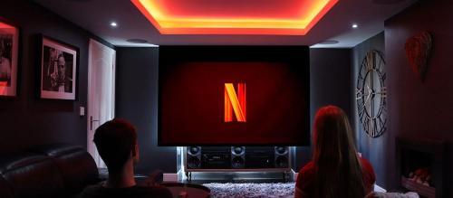 home cinema setup netflix