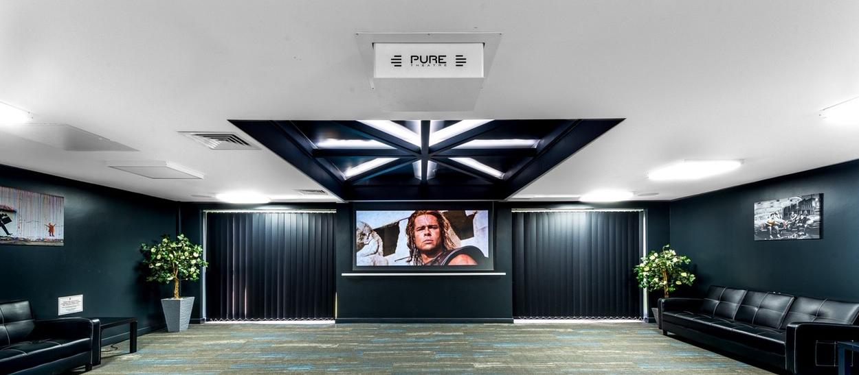 Student Housing Cinema Room