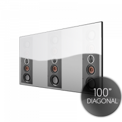 Spectral 100 ACOUSTIC Fixed Frame Projector Screen