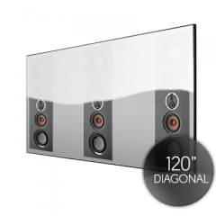 Spectral 120 Inch ACOUSTIC  Fixed Frame Projector Screen
