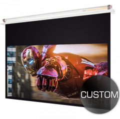 CUSTOM Ceiling Recessed Projector Screen