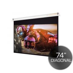 160cm Ceiling Recessed Projector Screen 4:3 PAL/NTSC