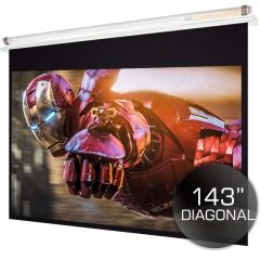 300cm Ceiling Recessed Projector Screen-4:3 ( PAL/NTSC  )