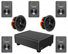 Dolby Atmos 5.1.2 In Wall Ceiling Speaker Package