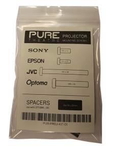 Pure Theatre - Projector Mounting Screws