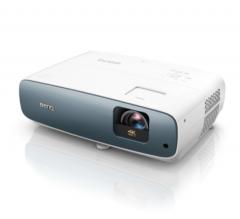Benq TK850i 4K HDR Smart Projector above left side view