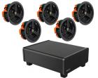 Dolby 5.1 In Ceiling Speaker Package