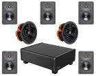 Dolby Atmos 5.1.2 In Wall Ceiling Speaker Package