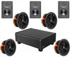 Dolby Atmos 5.1.2 In Wall & Ceiling Speaker Package