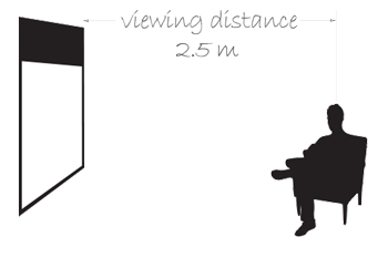 Viewing Distance of CR180