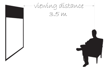 Viewing Distance of CR220