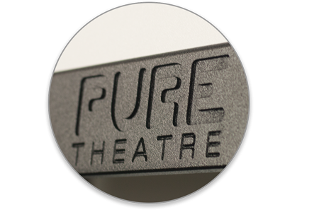 Pure Theatre CUSTOM Projector Screen - Weight Bar
