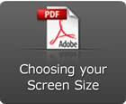 Choosing screen size