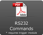RS232 commands