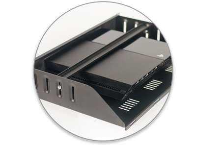 "19"" Rack Mount for  Mac Mini - Safe Secure"