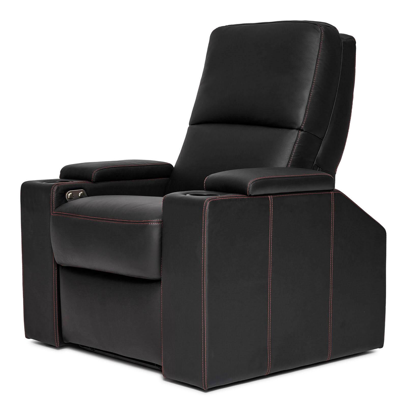 Moovia Black home cinema chair